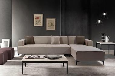 תמונה של מערכות ישיבה: סלון פינתי ענק דגם ברצלונה