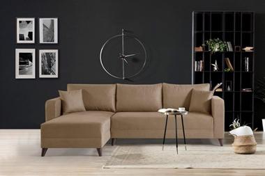 מערכות ישיבה: סלון פינתי מודרני דגם דניאל