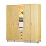 תמונה של ארונות בגדים: ארון 5 דלתות במחיר משתלם דגם שובל