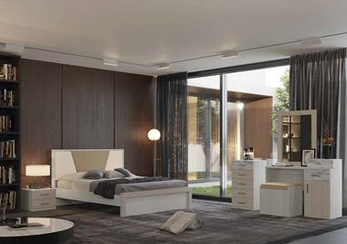 חדרי שינה: חדר שינה זוגי דגם לוטוס