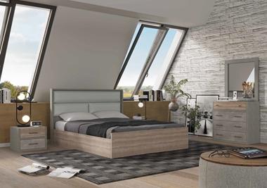 חדרי שינה: חדר שינה זוגי דגם טוסקנה