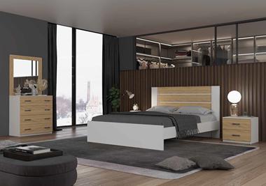 חדרי שינה: חדר שינה זוגי דגם מאטרו