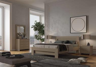 חדרי שינה: חדר שינה זוגי דגם רומא