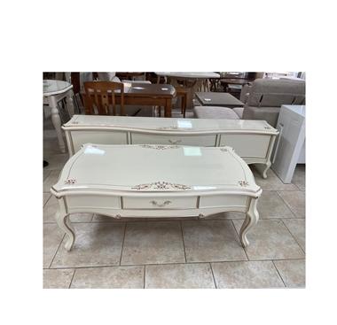 סט מפואר שולחן סלון ומזנון דגם מידאה