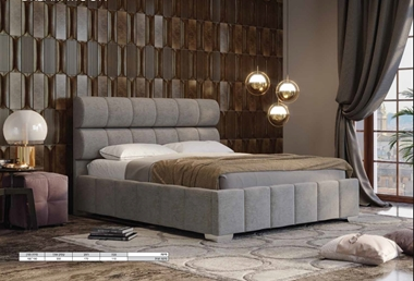 מיטות: מיטה זוגית מעוצבת דגם חלום