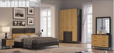 תמונה של חדרי שינה: חדר שינה יוקרתי, כולל הכל דגם מונארך