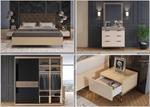 תמונה של חדרי שינה: חדר שינה יוקרתי, כולל הכל דגם סאטורן