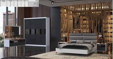 תמונה של חדרי שינה: חדר שינה יוקרתי, כולל הכל דגם מונזה